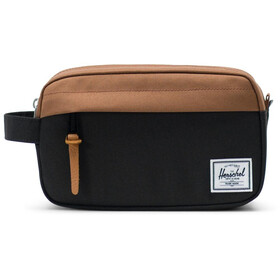 Herschel Chapter Carry On Kit da viaggio, black/saddle brown